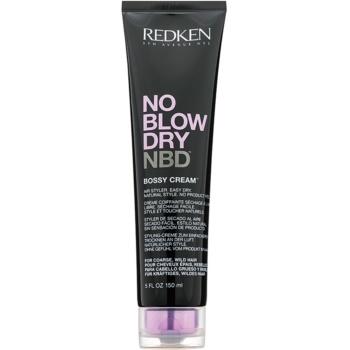 Redken No Blow Dry cremă de coafat cu uscare rapidă, pentru părul aspru și indisciplinat