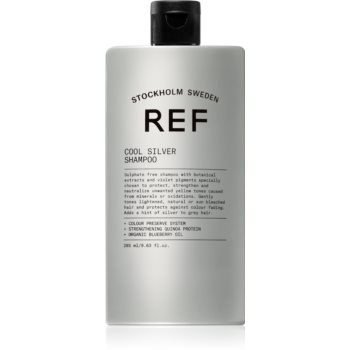REF Cool Silver Sampon argintiu neutralizeaza tonurile de galben