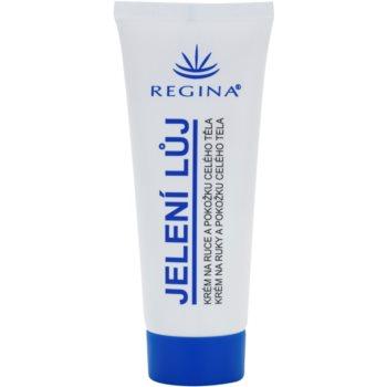 Regina Traditional crema con sebo de venado para manos y cuerpo