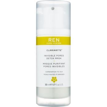 Fotografie REN Clarimatte™ detoxikační maska pro smíšenou a mastnou pleť 50 ml