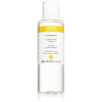 REN Clarimatte™ tonic pentru curatare pentru piele mixta spre grasa