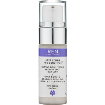 REN Keep Young And Beautiful™ gel iluminator pentru ochi cu efect lifting