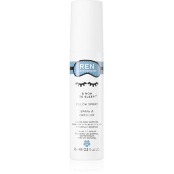 REN & Now To Sleep spray pentru perne cu esente de lavanda