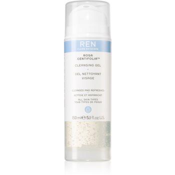 REN Rosa Centifolia™ gel de curățare pentru toate tipurile de ten