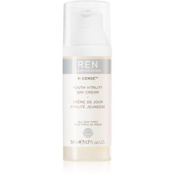 REN V-cense crema de zi antioxidanta împotriva îmbătrânirii pielii