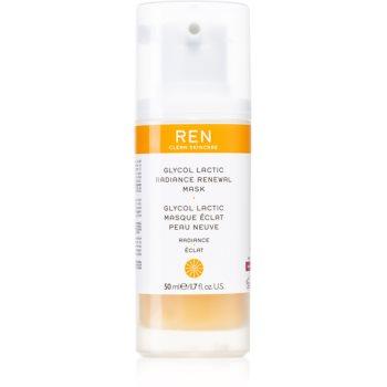 REN Radiance masca pentru exfoliere pentru definirea pielii poza