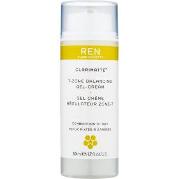 REN Clarimatte™ crema gel hidratanta cu textura usoara pentru un aspect mat