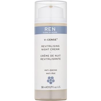 REN V-cense crema de noapte revitalizanta cu efect de intinerire