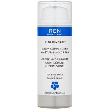 REN Vita Mineral crema de zi hidratanta cu efect de nutritiv