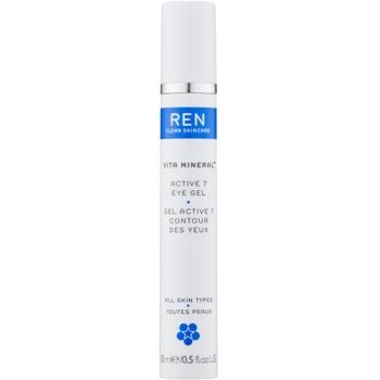 REN Vita Mineral gel pentru ochi cu efect racoritor