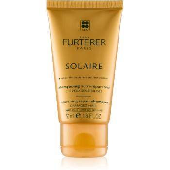 Rene Furterer Solaire vyživující šampon pro vlasy namáhané chlórem, sluncem a slanou vodou 200 ml
