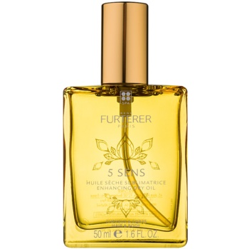 Fotografie Rene Furterer 5 Sens posilující suchý olej na tělo a vlasy 50 ml