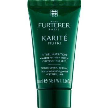 Rene Furterer Karité Nutri Masca intens hrănitoare pentru parul foarte uscat