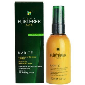 Rene Furterer Karité cuidado cremoso sem enxaguar  para cabelo seco a danificado 1