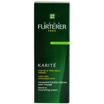 Rene Furterer Karité cuidado cremoso sem enxaguar  para cabelo seco a danificado 2