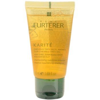 Fotografie Rene Furterer Karité vyživující šampon pro suché a poškozené vlasy 50 ml