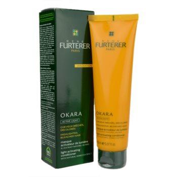 Rene Furterer Okara Active Light masca hranitoare pentru parul blond cu suvite 1