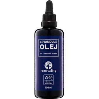 Fotografie Renovality Original Series masážní tělový olej z levandule 100 ml