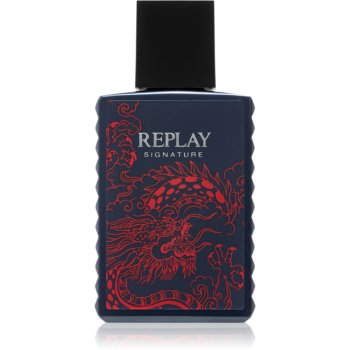 Replay Signature Red Dragon eau de toilette pentru barbati 30 ml