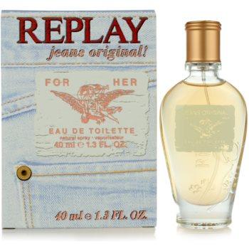 Replay Jeans Original! For Her toaletní voda pro ženy 40 ml