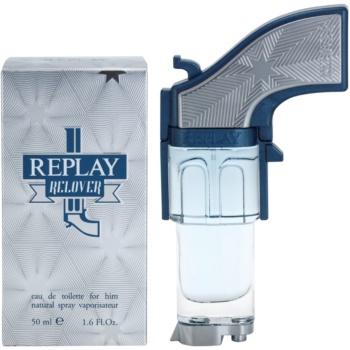 poze cu Replay Relover Eau de Toilette pentru barbati 50 ml