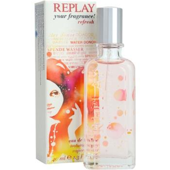 Replay Your Fragrance! Refresh For Her Eau de Toilette für Damen 1