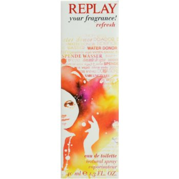 Replay Your Fragrance! Refresh For Her Eau de Toilette für Damen 5