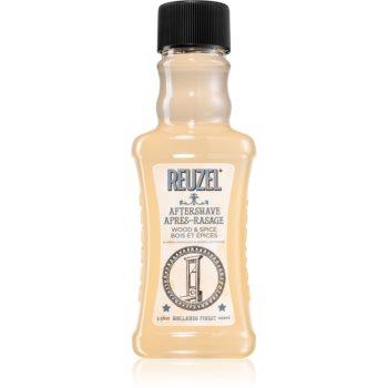 Reuzel Wood & Spice after shave