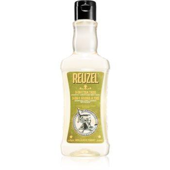 Reuzel Tea Tree șampon, balsam și gel de duș 3 în 1 pentru barbati poza noua