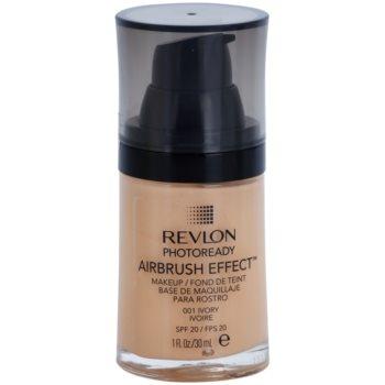 Revlon Cosmetics Photoready Airbrush Effect™ tekutý make-up SPF 20 odstín 001 Ivory 30 ml
