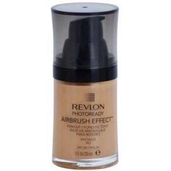 Revlon Cosmetics Photoready Airbrush Effect™ tekutý make-up SPF 20 odstín 004 Nude 30 ml