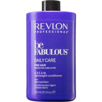Revlon Professional Be Fabulous Daily Care balsam pentru păr fin cu efect de volum