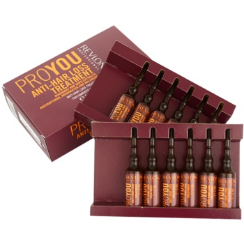 Revlon Professional Pro You Anti-Hair Loss vlasová kúra proti padání vlasů 12 x 6 ml