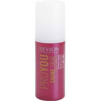 Fotografie Revlon Professional Pro You Shine sérum pro suché a poškozené vlasy 80 ml