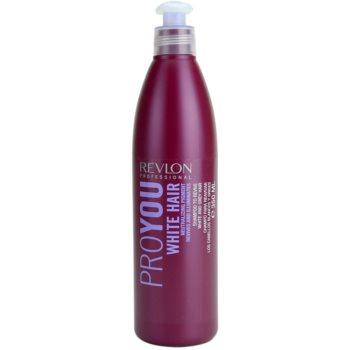 Revlon Professional Pro You White Hair ?ampon pentru pãrul blond ºi gri imagine produs