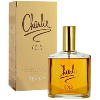 Revlon Charlie Gold Eau de Toilette pentru femei imagine produs