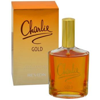 Revlon Charlie Gold Eau Fraiche toaletní voda pro ženy 100 ml