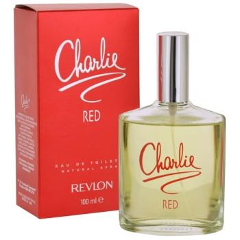 Revlon Charlie Red Eau de Toilette pentru femei imagine produs