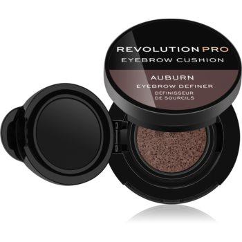 Revolution PRO Eyebrow Cushion vopsea pentru sprâncene, în burete aplicator