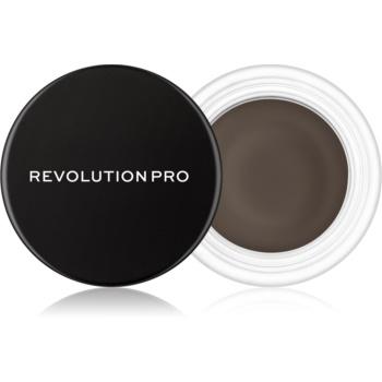 Revolution PRO Brow Pomade Spancene Pomada culoare Ebony 2,5 g
