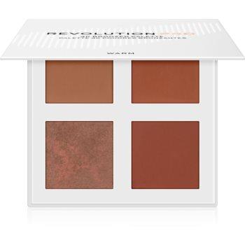 Revolution PRO 4K Bronzer Palette paleta pentru bronzare imagine produs