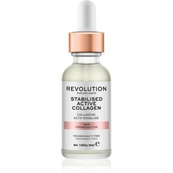 Revolution Skincare Stabilised Active Collagen Ser facial pentru fermitate cu efect de hidratare