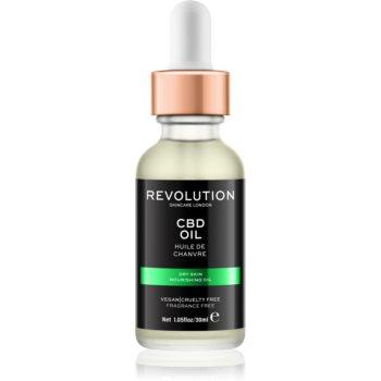 Revolution Skincare CBD ulei hrănitor pentru tenul uscat
