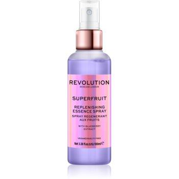 Revolution Skincare Superfruit spray facial recuperator imagine produs
