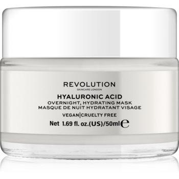 Revolution Skincare Hyaluronic Acid masca hidratanta de noapte facial poza noua