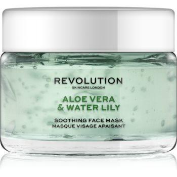 Revolution Skincare Aloe Vera & Water Lily masca calmanta pentru fata poza noua