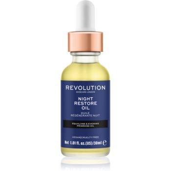 Revolution Skincare Night Restore Oil ulei hidratant iluminator
