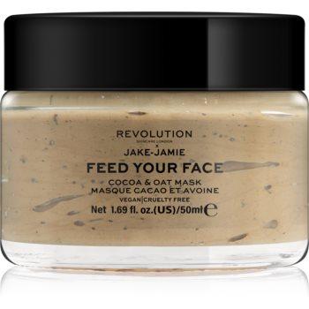 Revolution Skincare X Jake-Jamie Cocoa & Oat masca faciala hidratanta poza noua