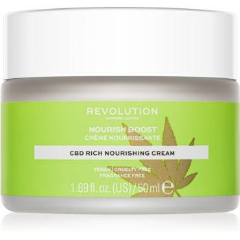 Revolution Skincare Nourish Boost Crema nutritiva pentru fata pentru tenul uscat