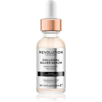 Revolution Skincare Colloidal Silver Serum Ser activ pentru a netezi conturul feței poza noua